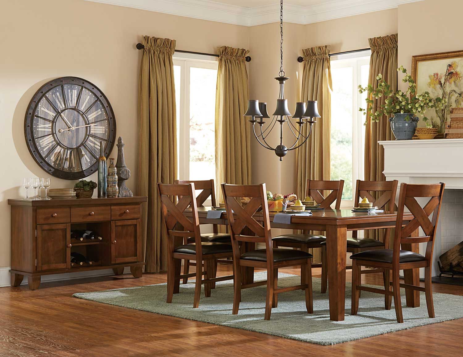 Homelegance Silverton Dining Set