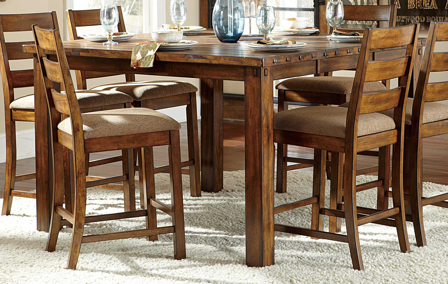 Table Height 36: Homelegance Ronan Counter Height Table