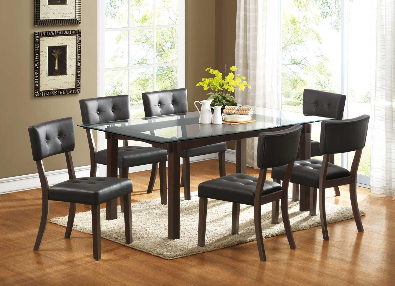 Homelegance Clarity Dining Set