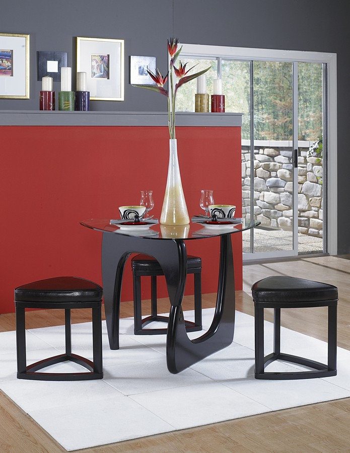Homelegance Chorus 4-Pc Dining Set