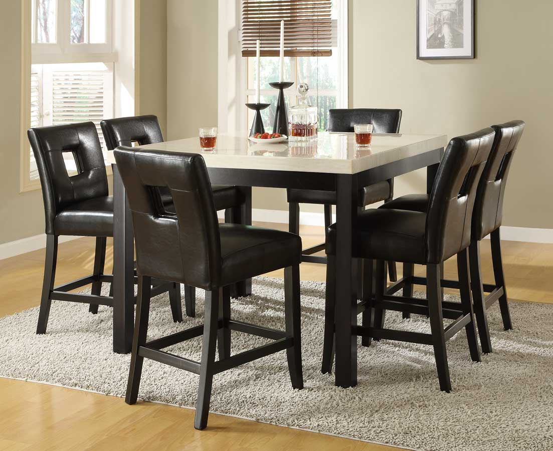 Homelegance Archstone Counter Height Dining Set D3270 36