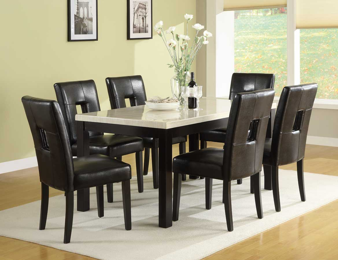 Homelegance Archstone 60in Dining Set