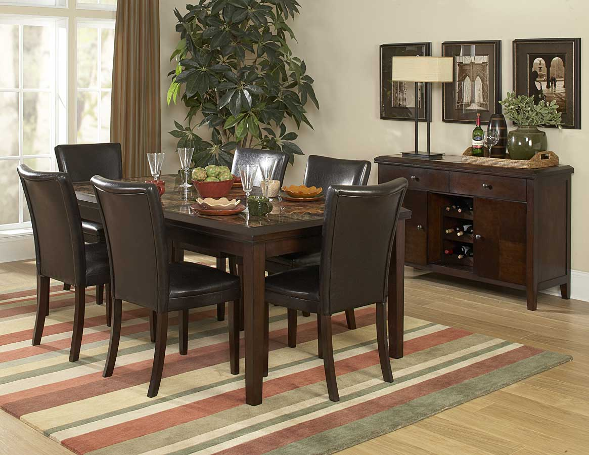 Homelegance Belvedere 78in Dining Set
