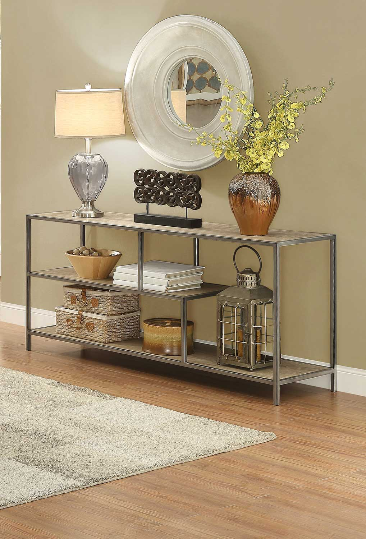 Homelegance Xaria Sofa Table / TV Stand