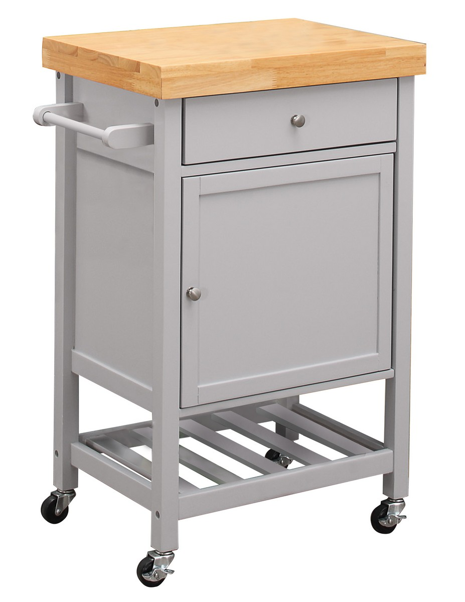 Homelegance Zinnia Kitchen Cart with Casters