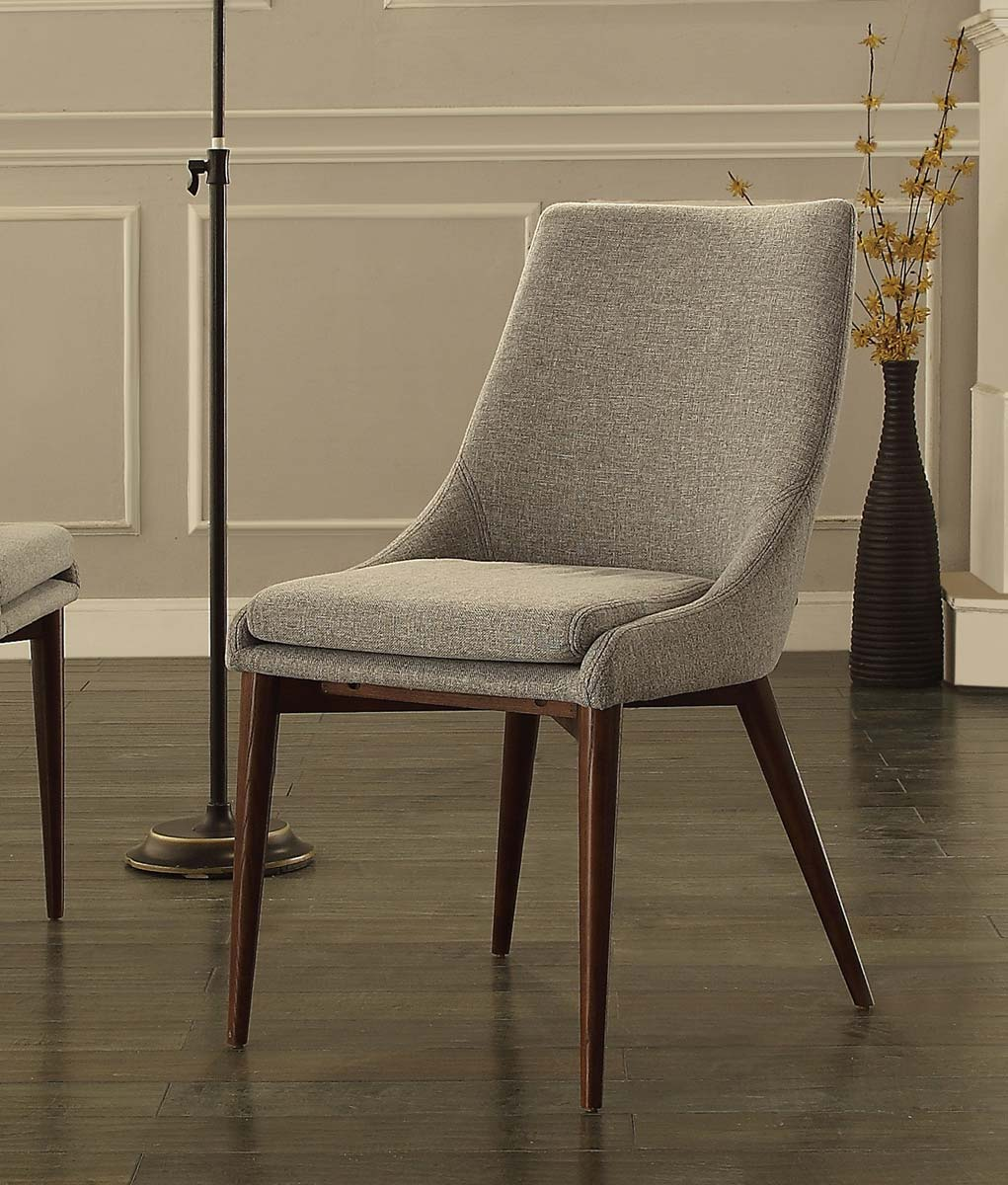 Homelegance Fillmore Side Chair - Cool Gray Fabric
