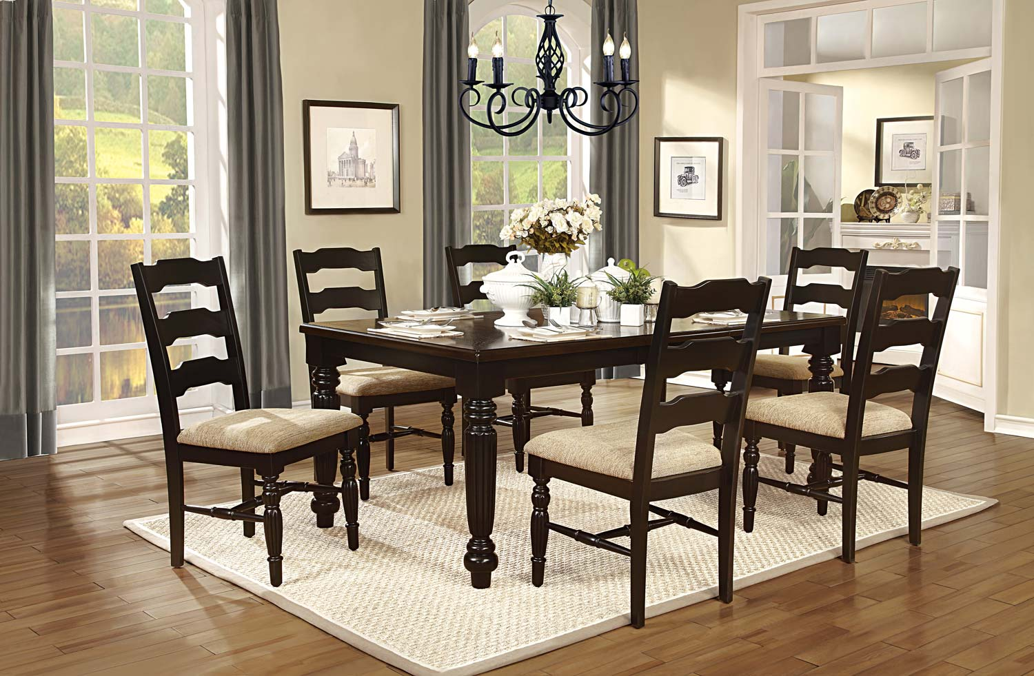 Homelegance Sutherlin Grove Dining Set