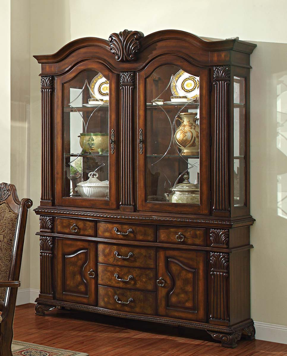Homelegance Thurmont China Cabinet - Cherry