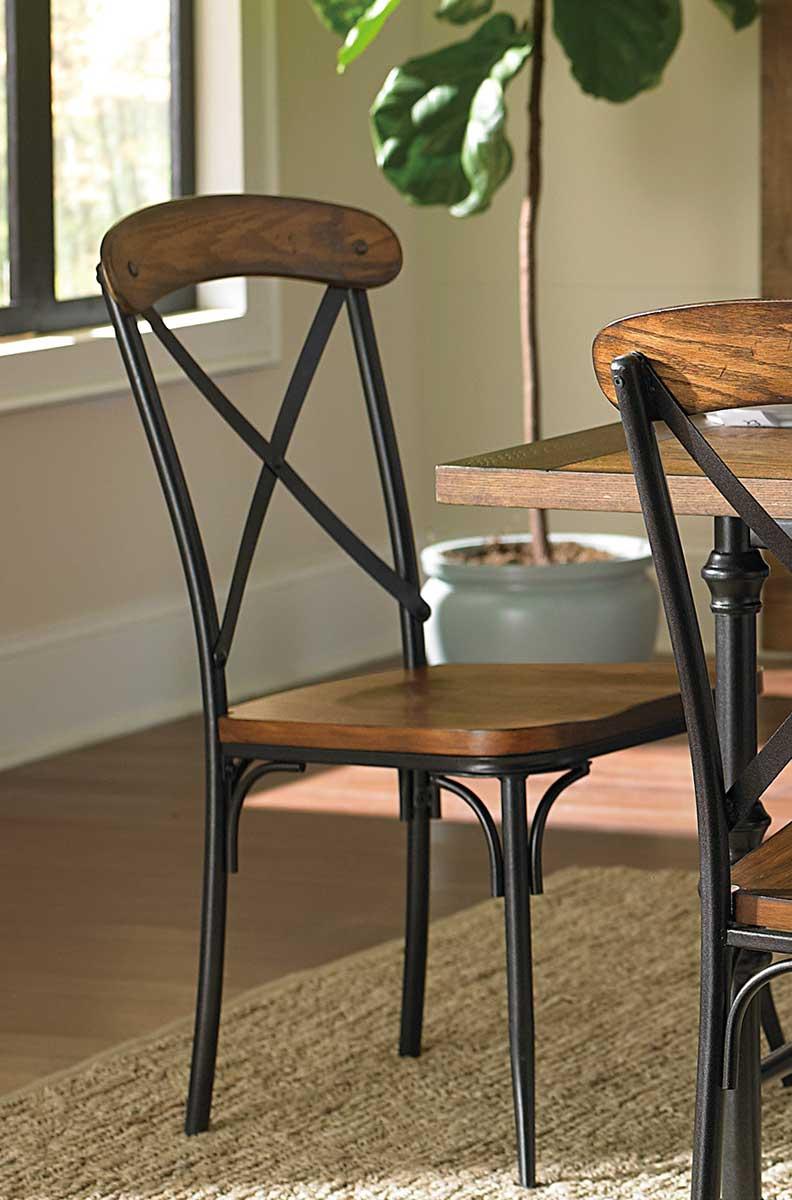 Homelegance Millwood Side Chair - Ash Veneer