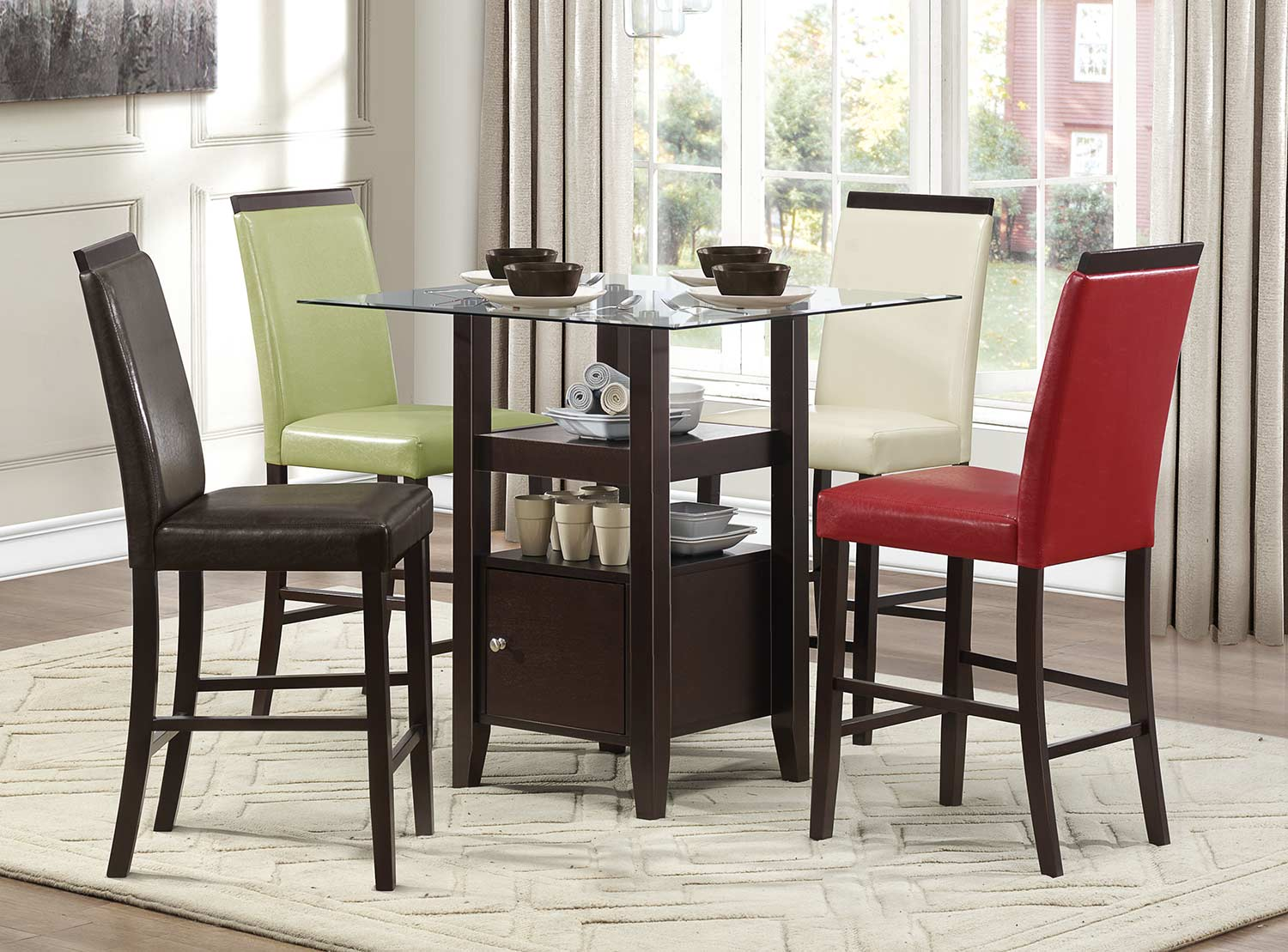 Homelegance Bari Counter Height Dining Set -