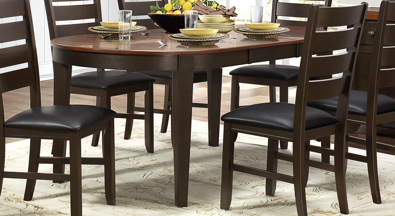 Homelegance Grunwald Dining Table - Dark Brown