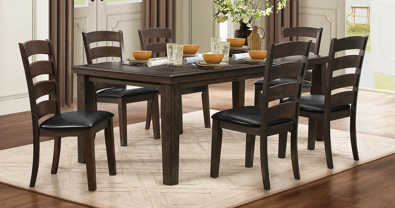 Homelegance Pacific Grove Dining Set - Brown
