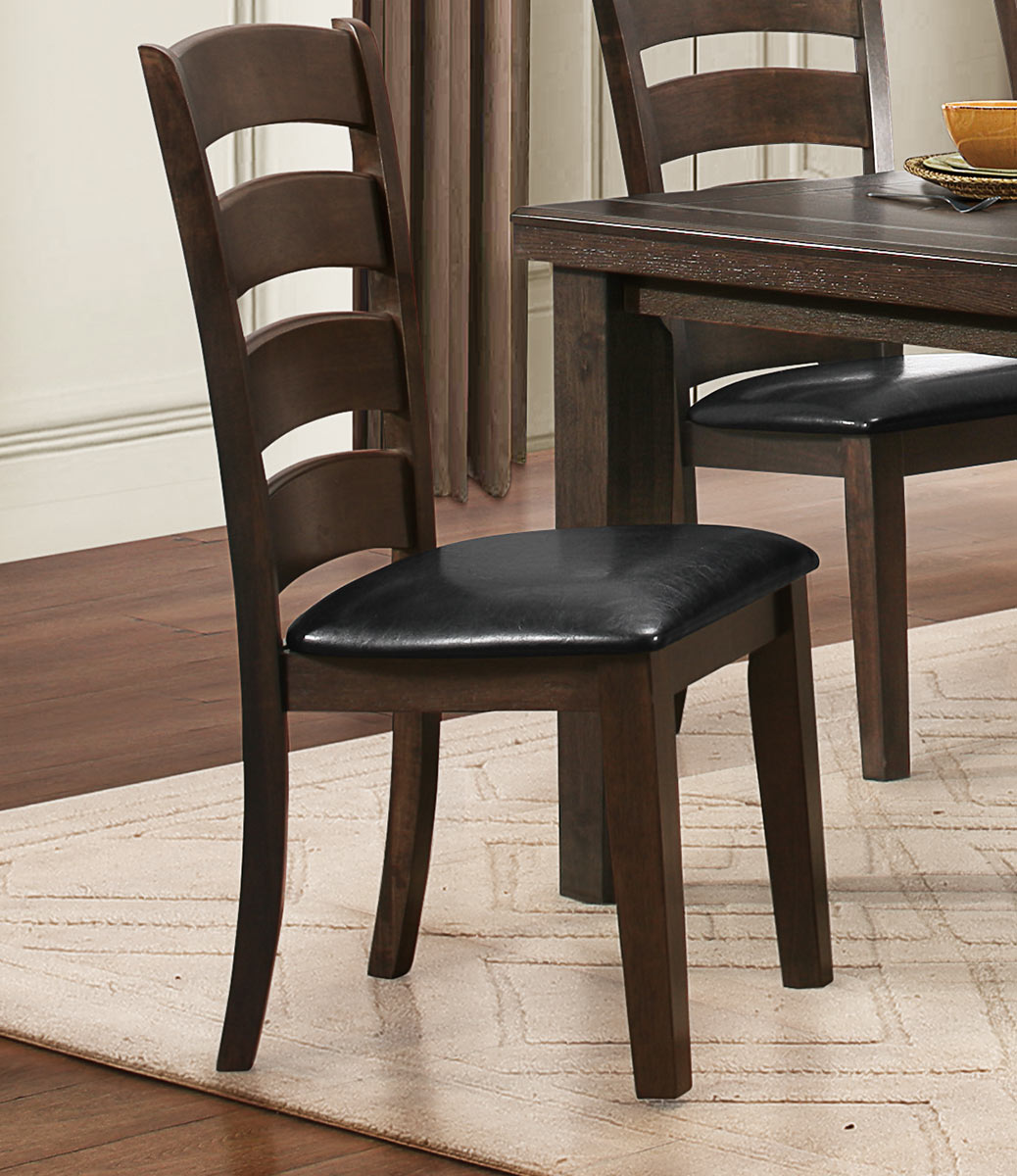 Homelegance Pacific Grove Side Chair - Brown