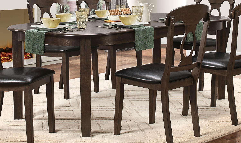 Homelegance Lemoore Dining Table - Weathered Brown