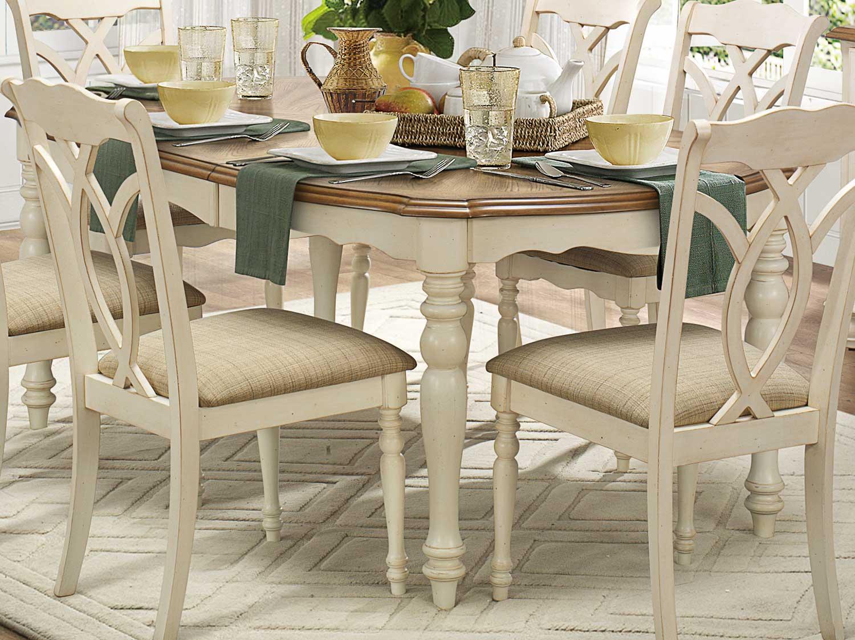 Homelegance Azalea Dining Set - Antique White 5145-Dining ...