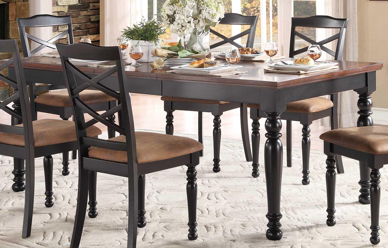 Homelegance Isleton Dining Table - Black