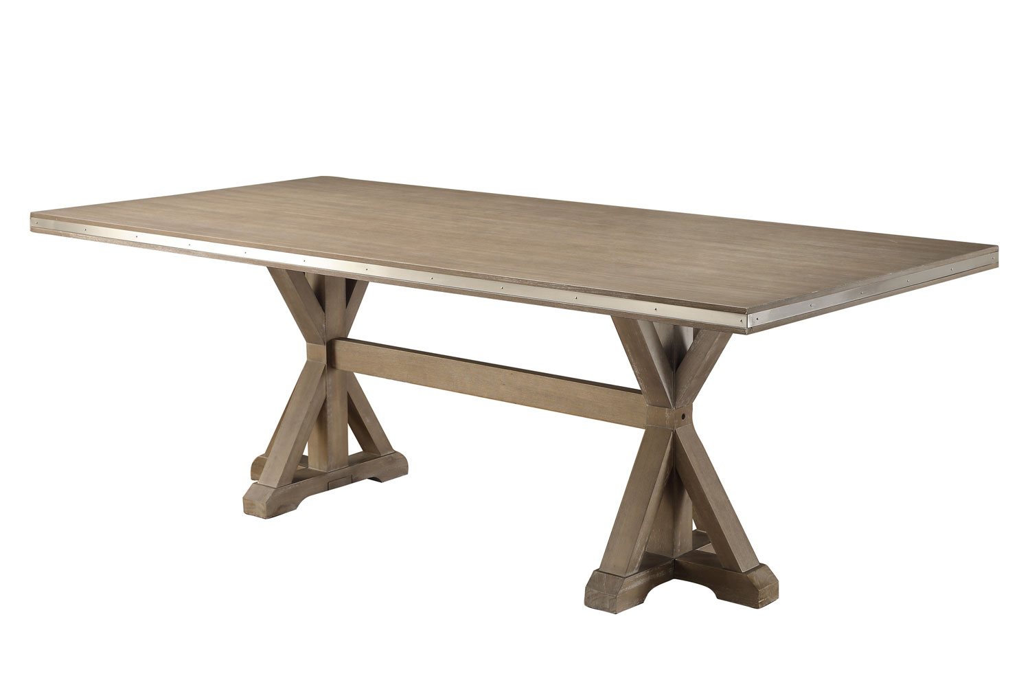 Homelegance Beaugrand Dining Table - Brown