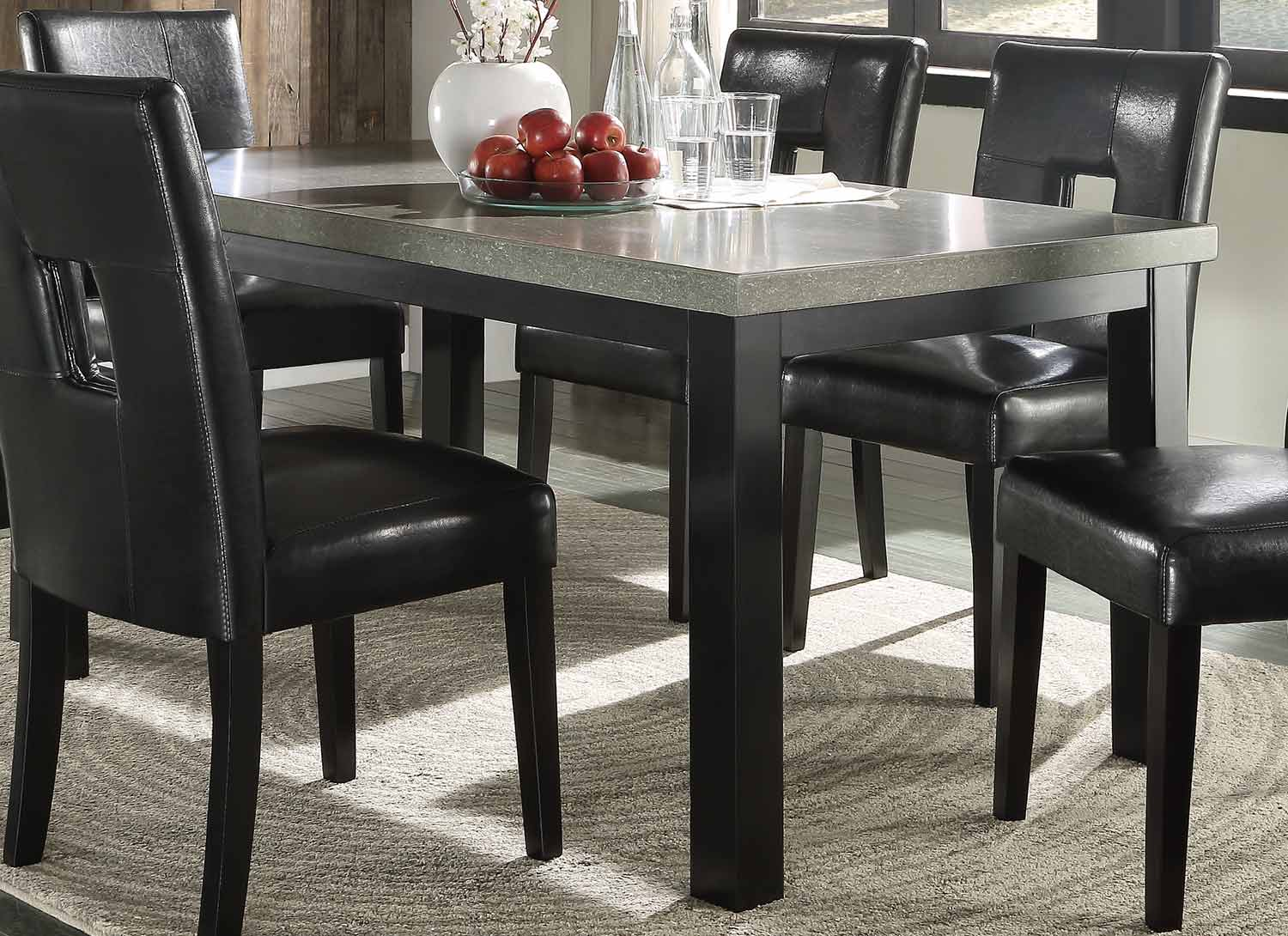 Homelegance Beliot Dining Table - Black