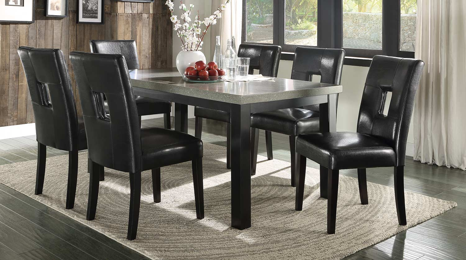 Homelegance Beliot Dining Set - Black