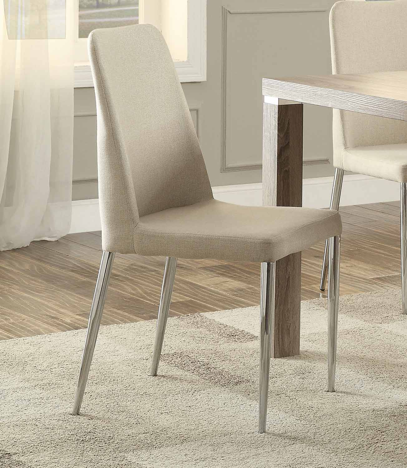 Homelegance Luzerne Side Chair - Neutral Tone Fabric