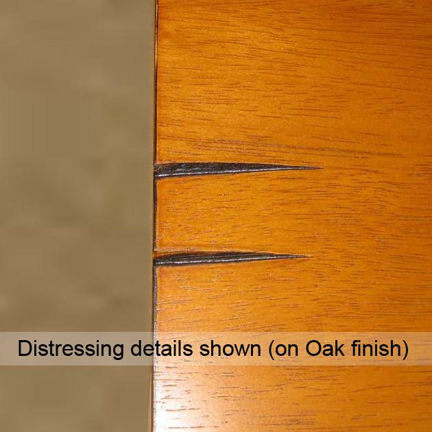 Homelegance Saddleback 5 Pc Dinette Set in Oak Finish