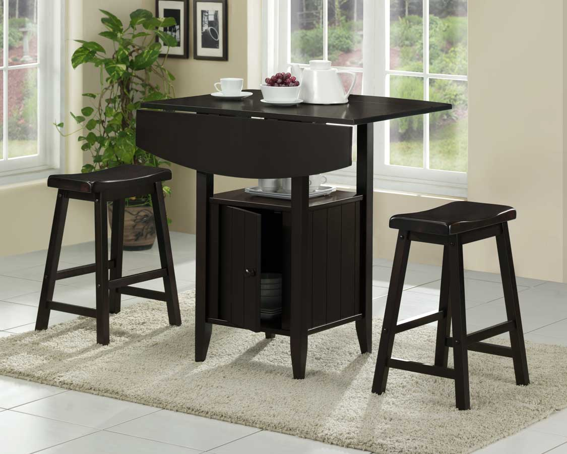 Homelegance Brianna 3pc Counter Height Dining Set
