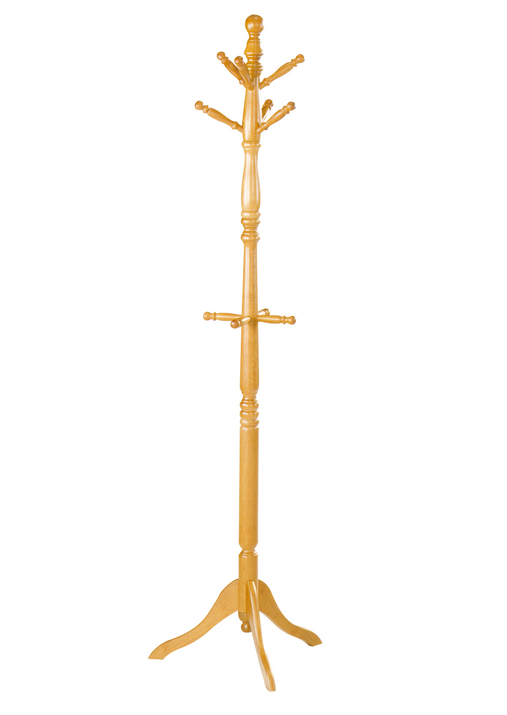 Homelegance Hall Tree and Umbrella Rack - Oak