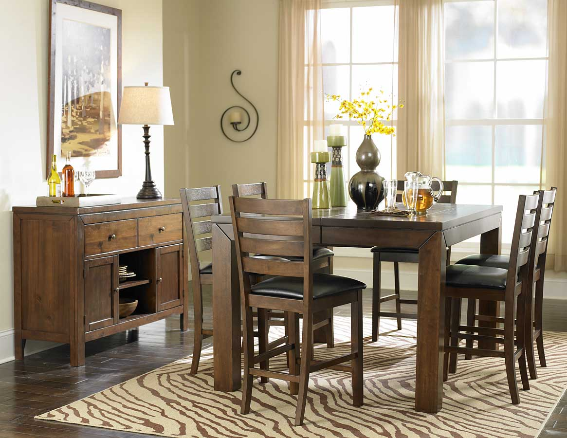 dining room counter height tables | Homelegance Eagleville Counter Height Dining Set D5346-36 ...