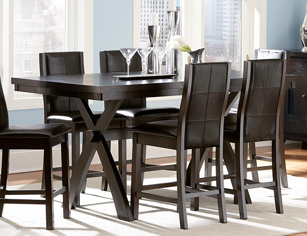 homelegance sherman counter height dining set