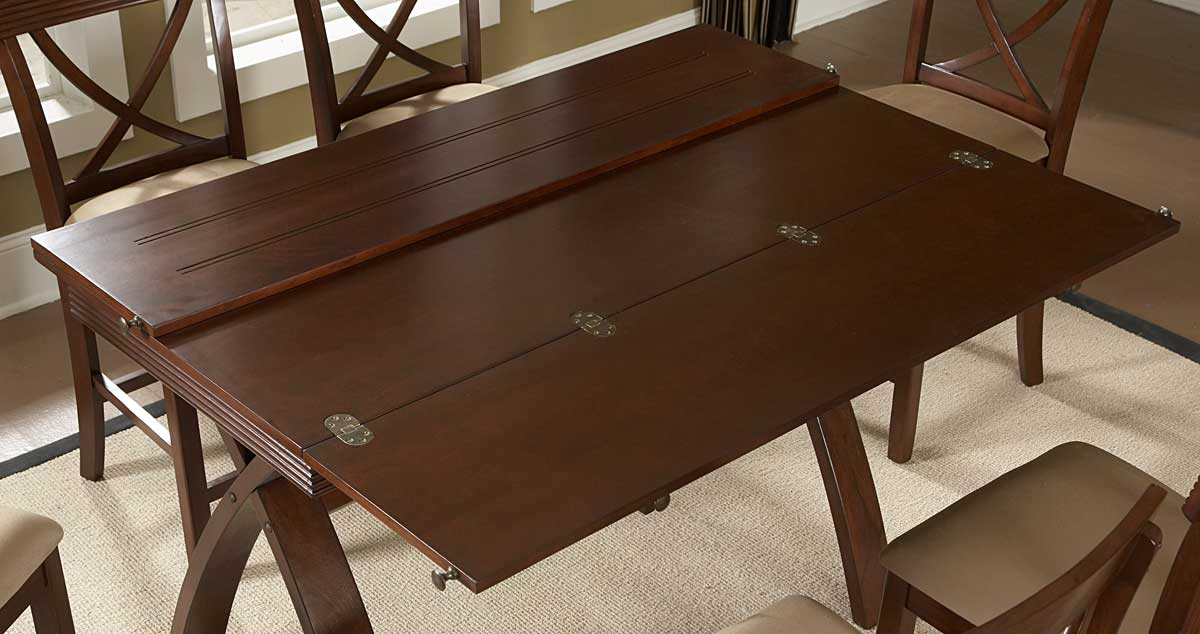 Homelegance Sunbelt Counter Height Table With Flip Top
