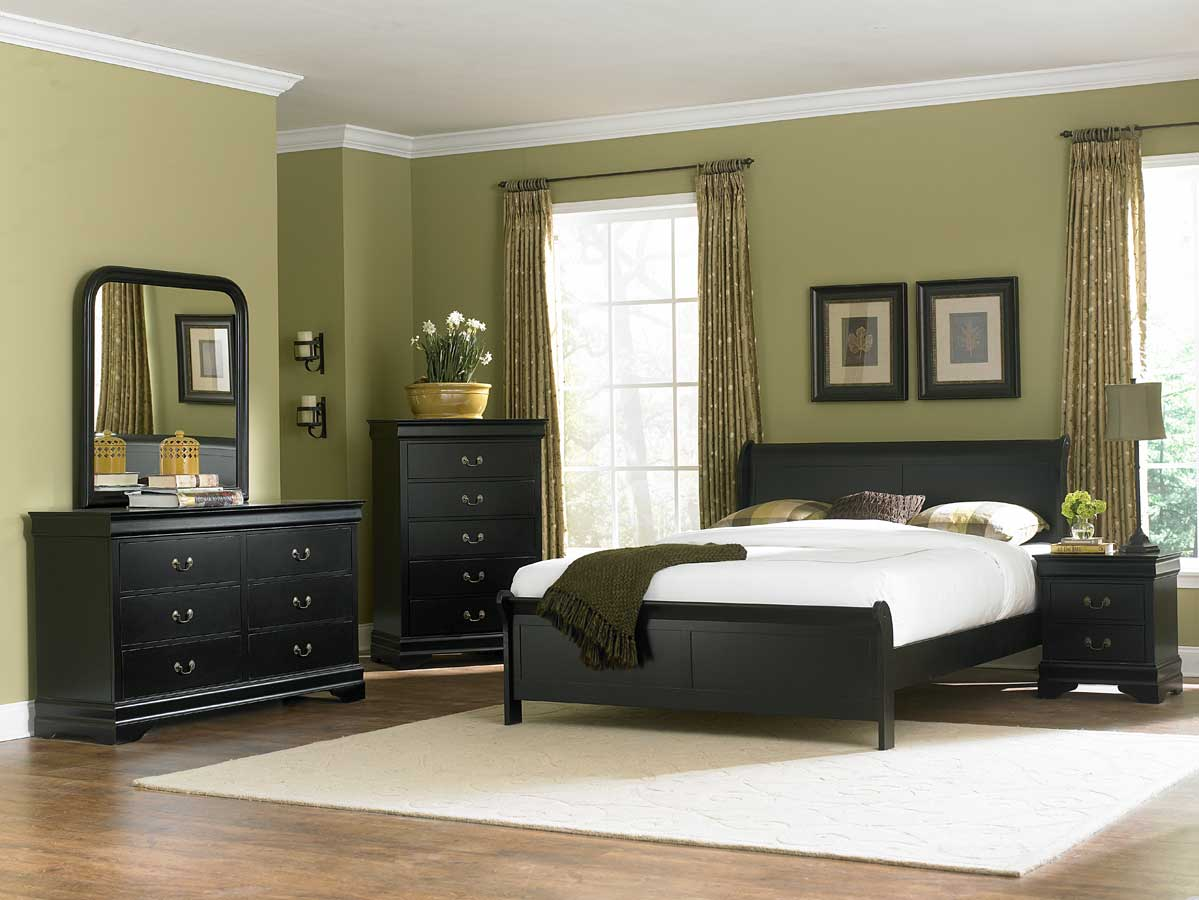 Homelegance Marianne Bedroom Set - Black B539BK at ...