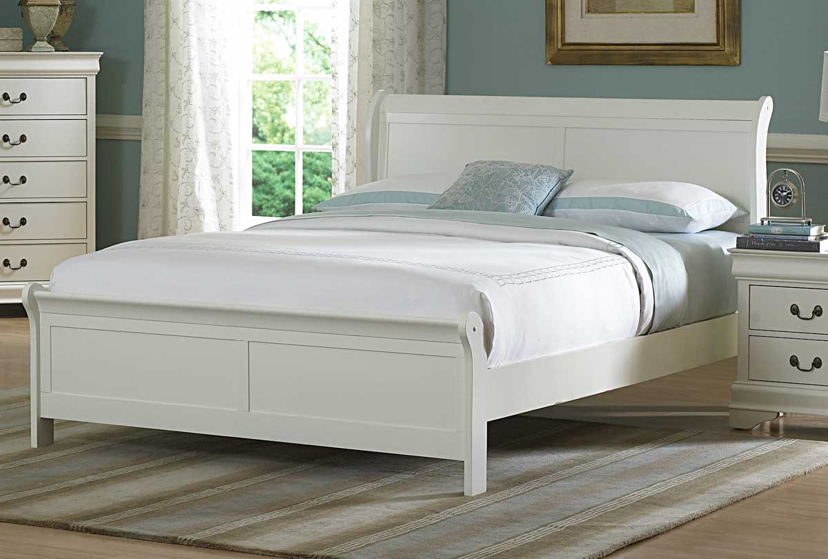 Homelegance Marianne Bed - White
