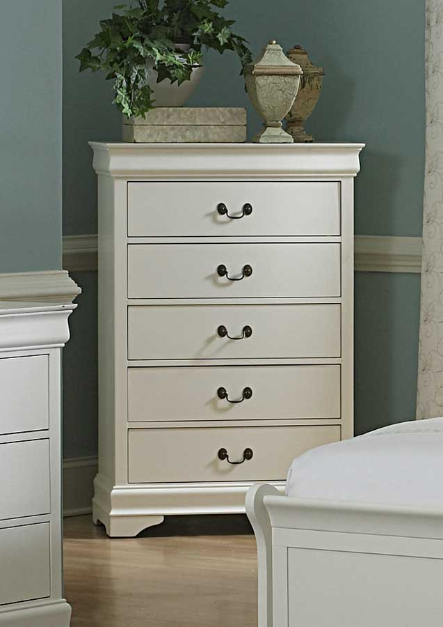 Homelegance Marianne Chest - White