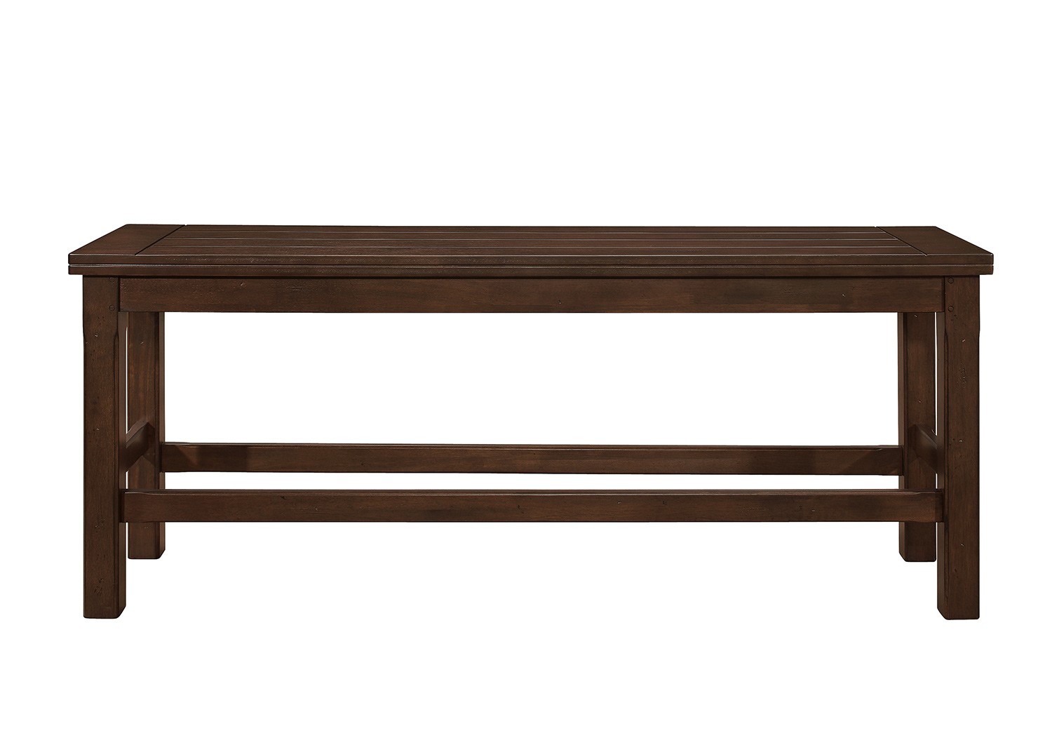 Homelegance Schleiger Counter Height Bench - Dark Brown
