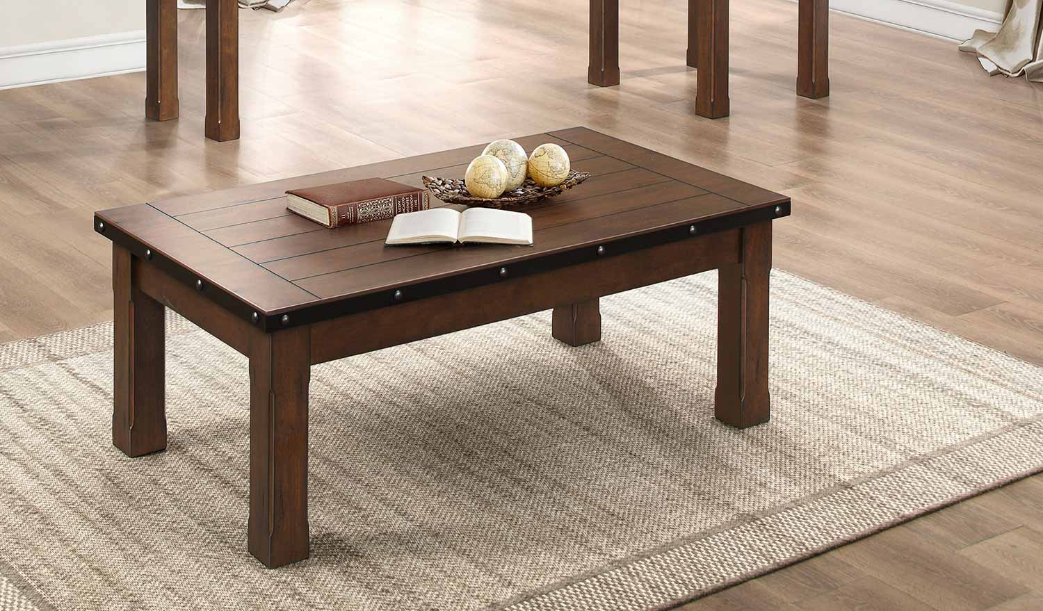 Homelegance Schleiger Coffee/Cocktail Table