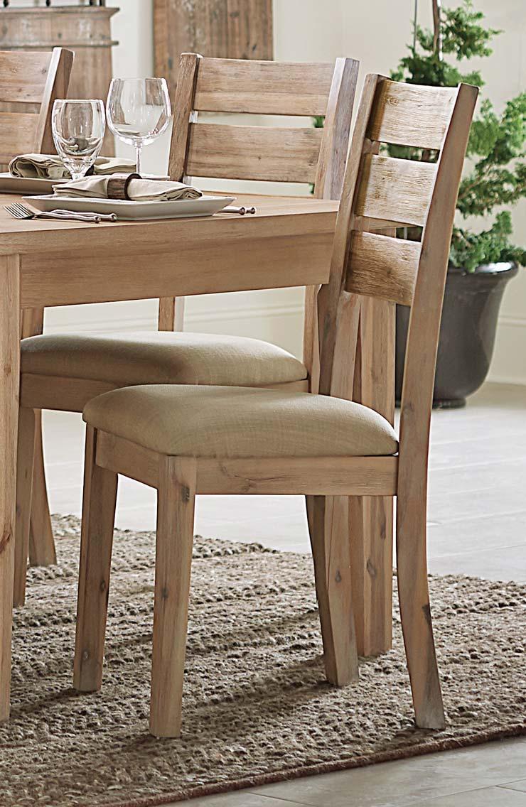 Homelegance Colmar Side Chair - Light Burnished Oak