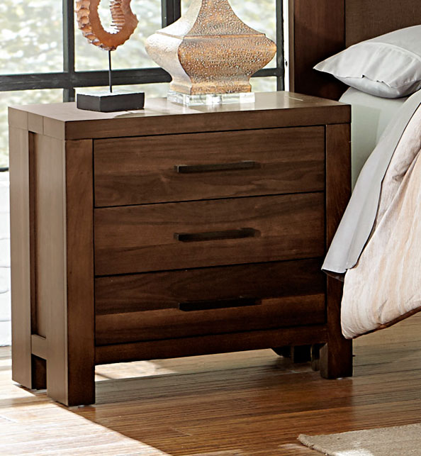 Homelegance Sedley Night Stand - Walnut