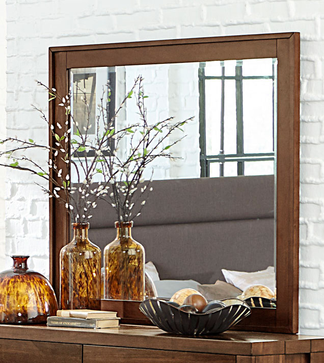 Homelegance Sedley Mirror - Walnut