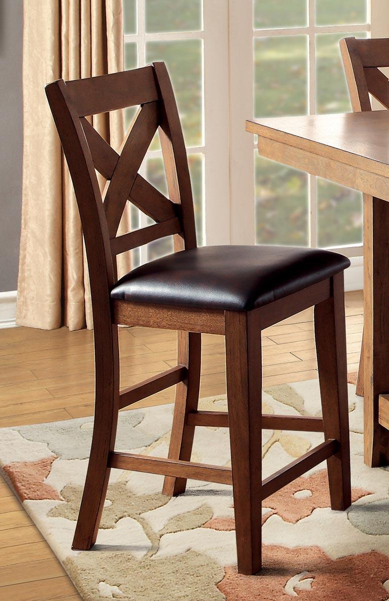 Homelegance Burrillville Counter Height Chair - Oak