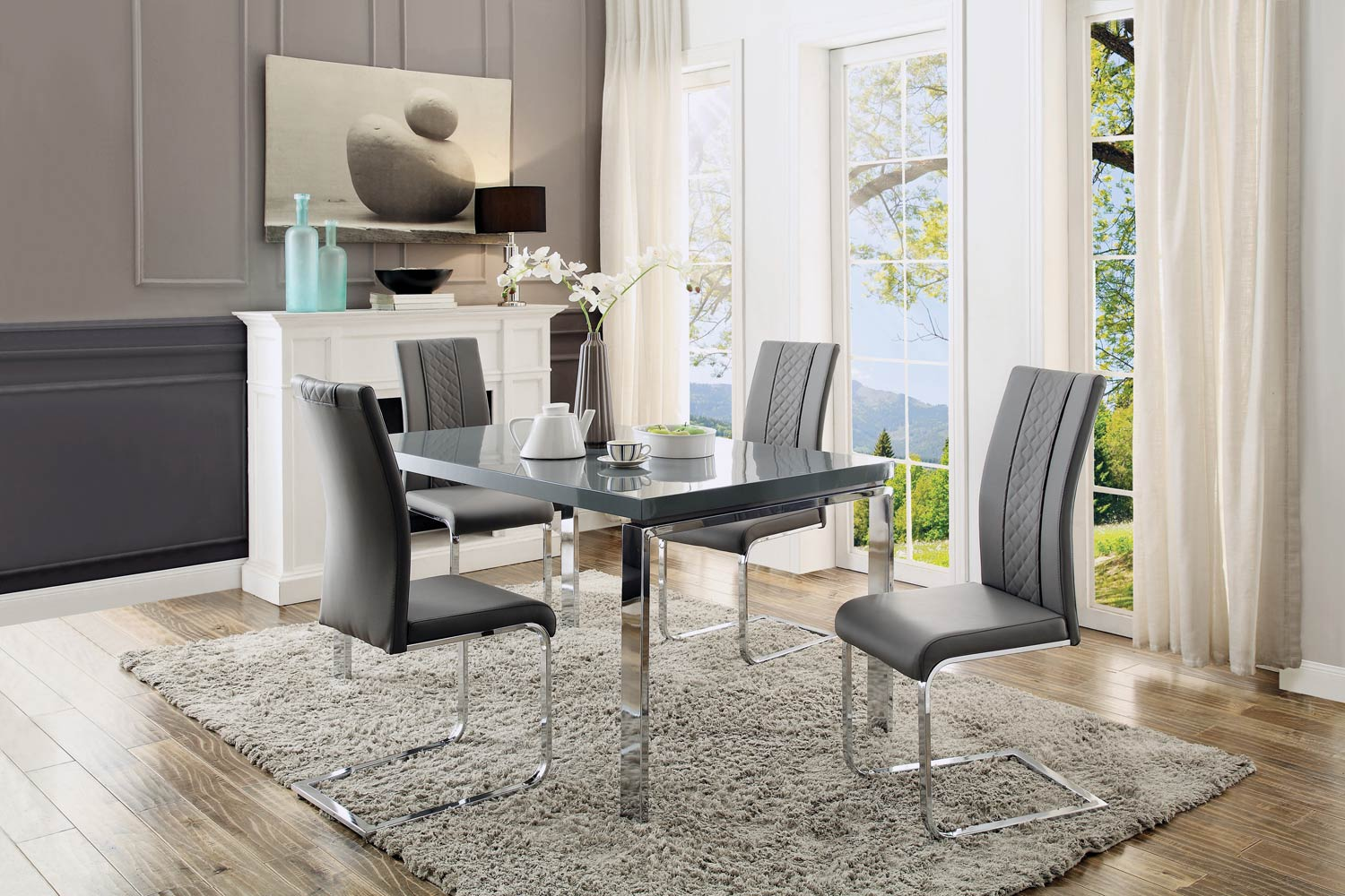 Homelegance Miami Dining Set