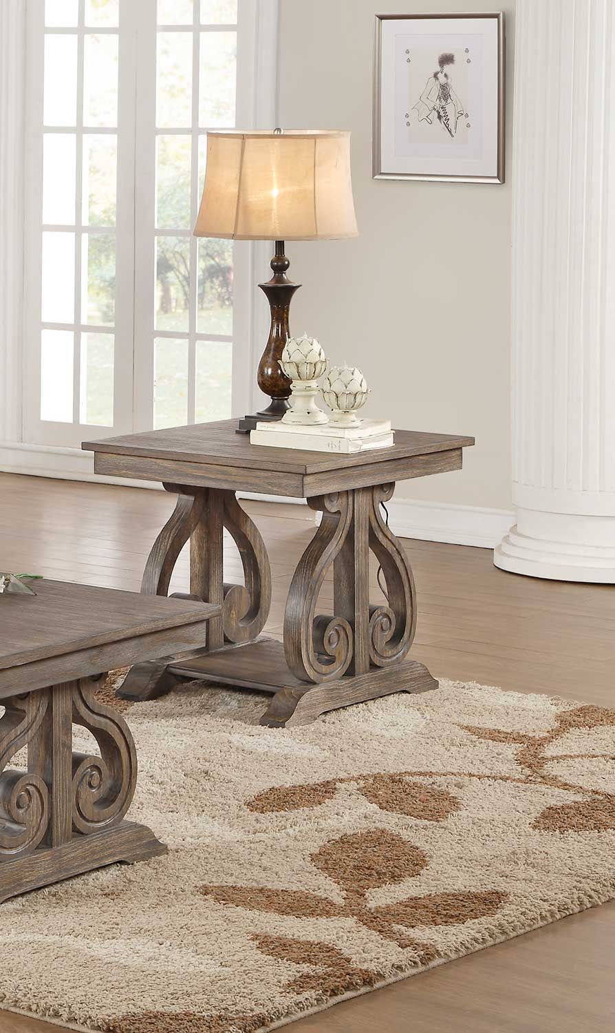 Homelegance Toulon End Table