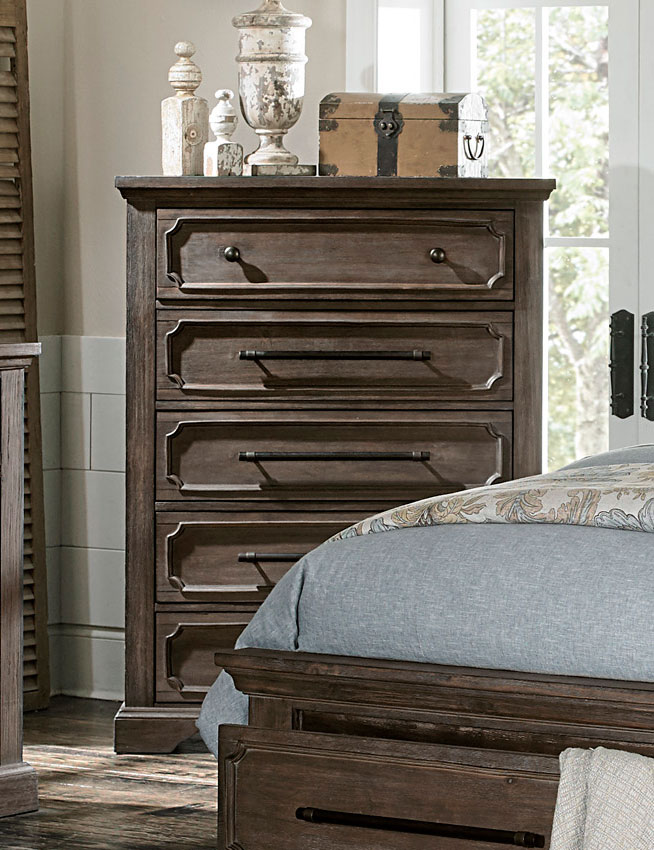 Homelegance Toulon Chest - Rustic Acacia