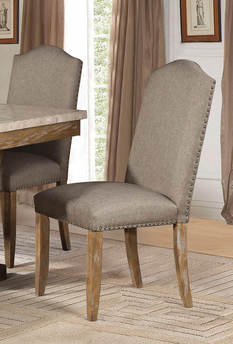 Homelegance Jemez Side Chair - Weathered Wood