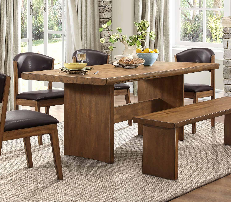 Homelegance Tod Rectangular Dining Table