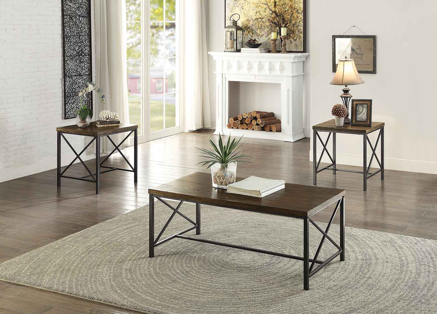 Homelegance Sage 3-Piece Occasional Tables