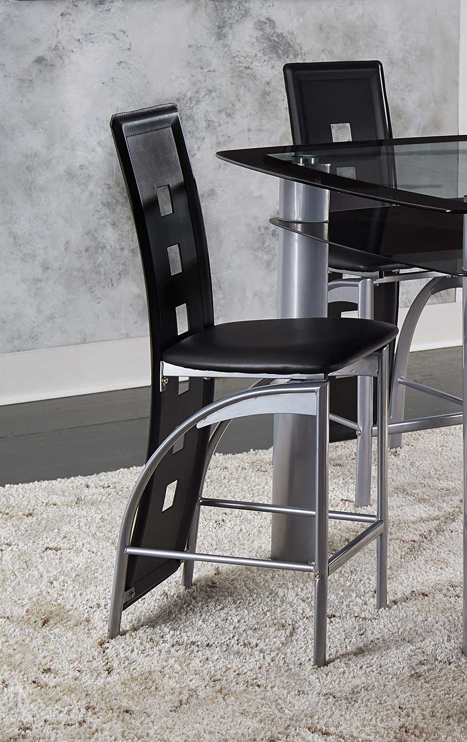 Homelegance Sona Counter Height Chair - Metal
