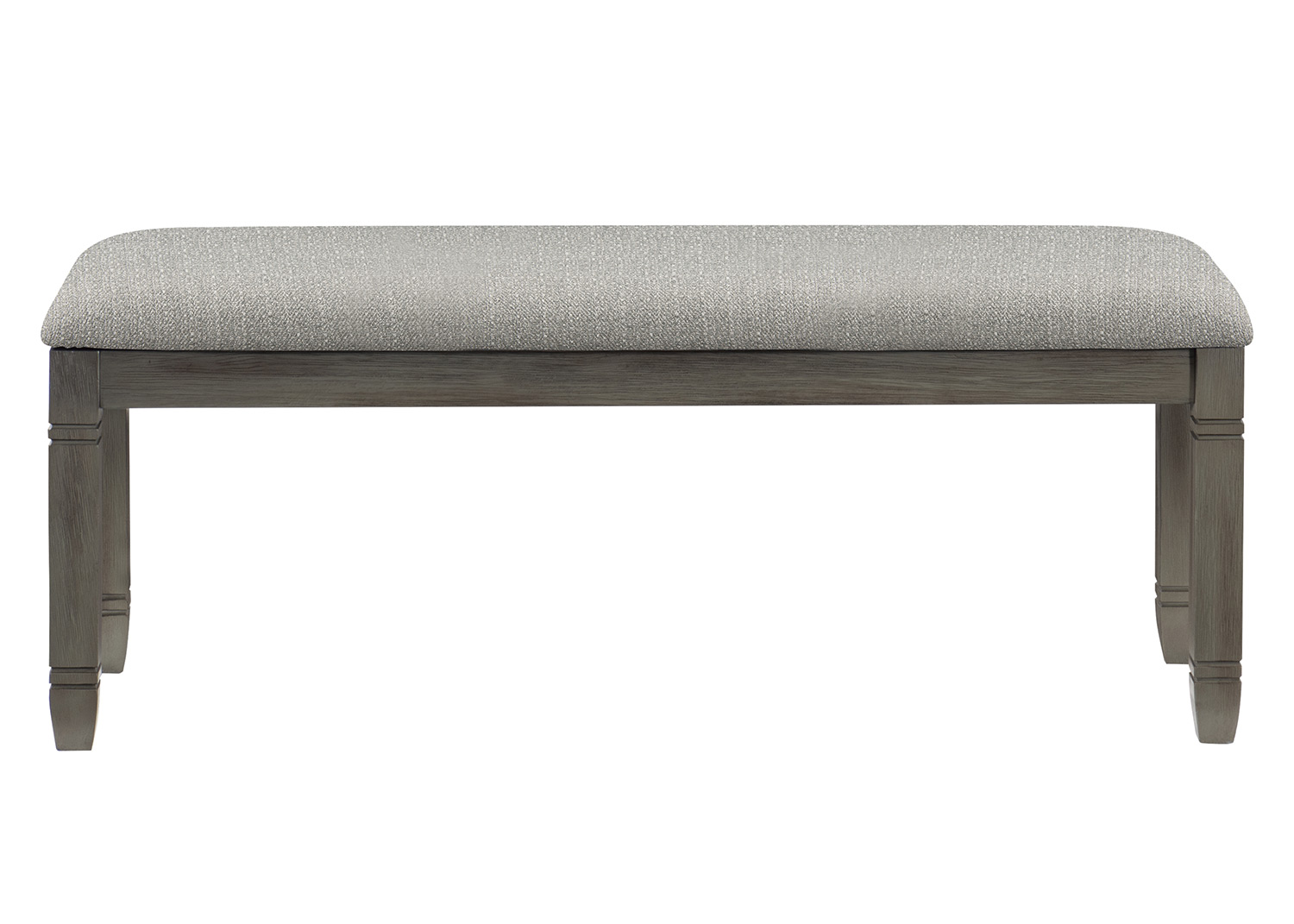 Homelegance Granby Bench - Antique Gray and Coffee