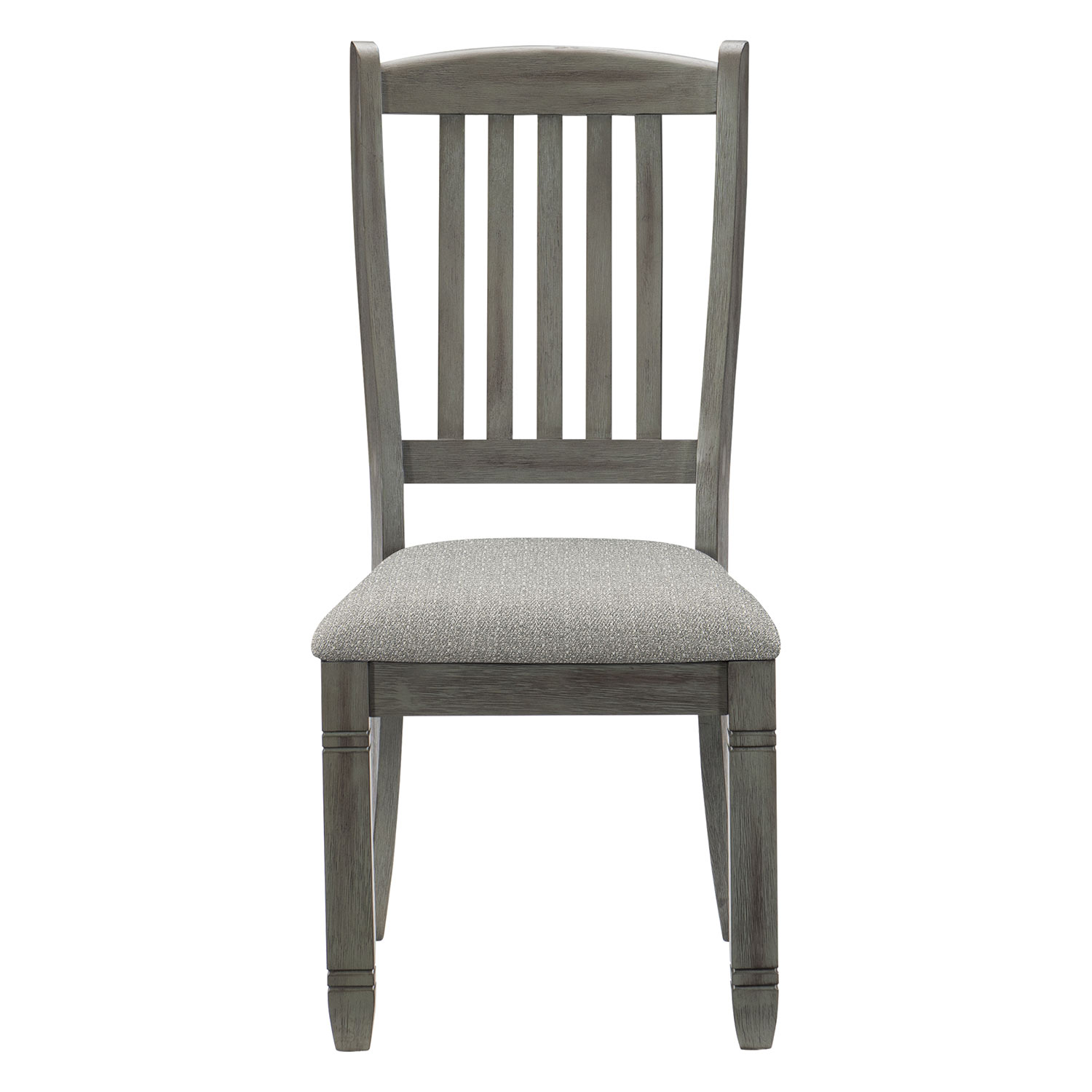 Homelegance Granby Side Chair - Antique Gray and Coffee