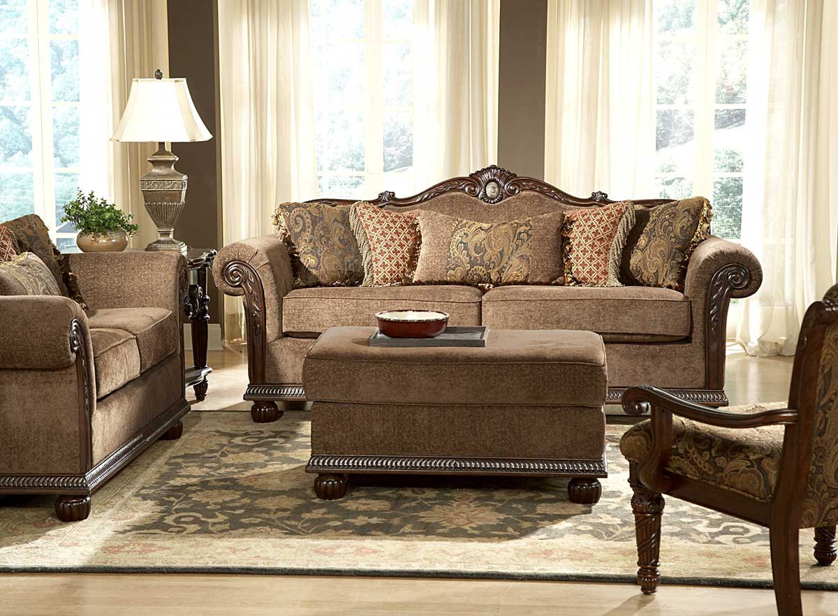 Catalina Love Seat-Homelegance