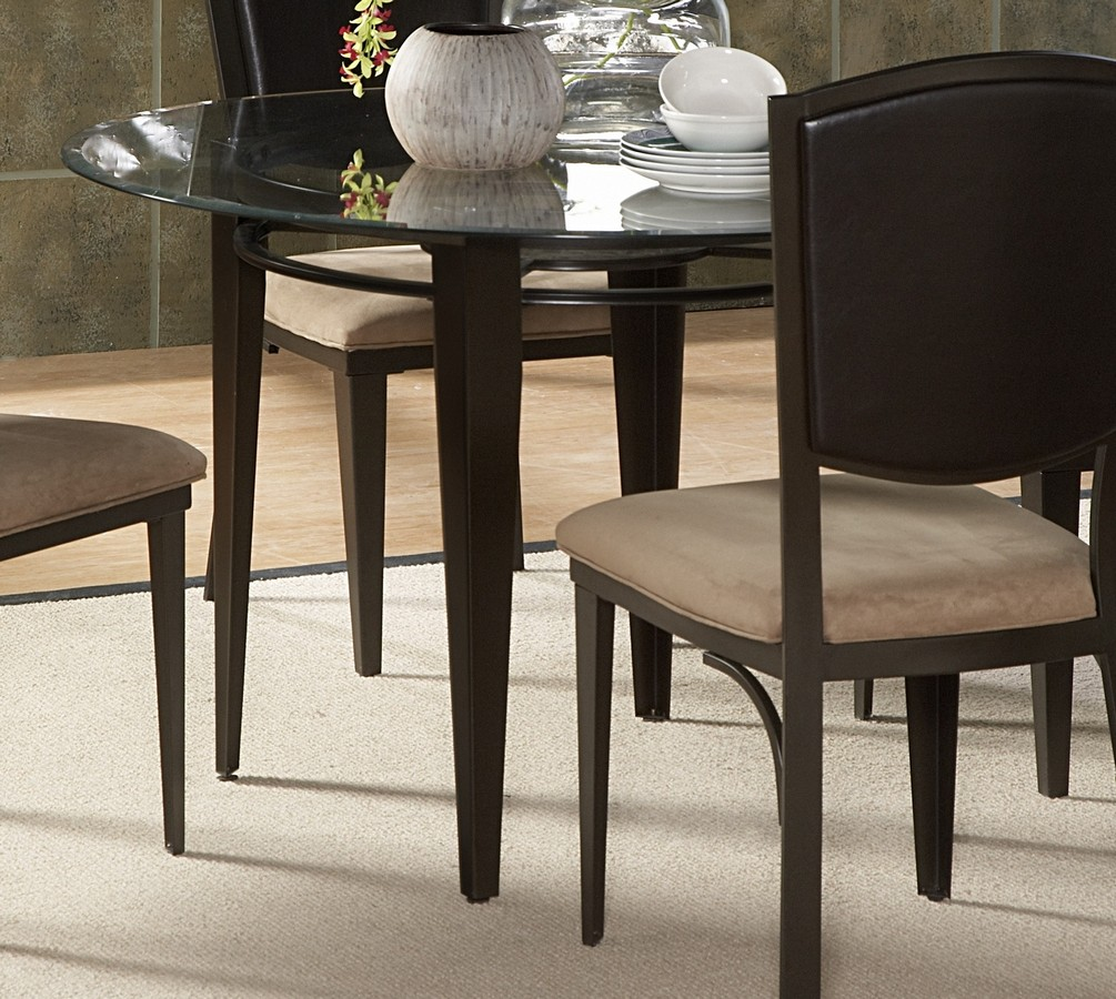 Homelegance Rockdale Dining Table with 45in Glass Top